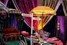 Fancy Party Umbrellas For Sangeet Function