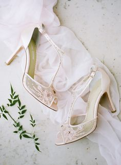 fd4d1961c80 Beautifully embellished floral brides shoes from Bella Belle Shoes Wedding  Shoes Bride