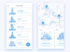 Ctrip APP_Travel Route, Just for fun ~haha  旅游线路订单,行程地图规划  Hope you like it, thank you! :) You can also press 'L' to like it or follow…
