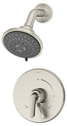 symmons s5501stntrm elm 1 handle shower faucet trim