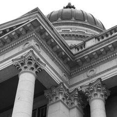 Utah State Capitol Architecture Up Close - Salt Lake City, Utah
