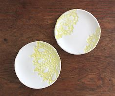 DIY: Crochet Clay Dishes