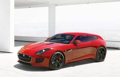 This is a Jaguar F-Type Shooting Brake, and It's Actually Happening