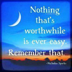 ~Nicholas Sparks