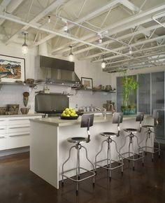 Contemporary kitchen. Photo by Beth Singer. Jones-Keena Co. Jones-Keena Co - Birmingham, MI