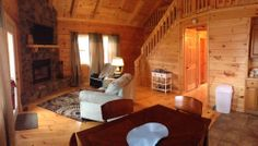 HOCKING HILLS - Blu Ash Cabin - $155 wk/nt & $225 wkend/nt for 4 people $15 p/p each night + tax