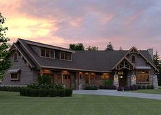 Handsome Craftsman Home Plan - 18265BE | Country, Craftsman, Northwest, Exclusive, 1st Floor Master Suite, Butler Walk-in Pantry, CAD Available, PDF, Corner Lot | Architectural Designs
