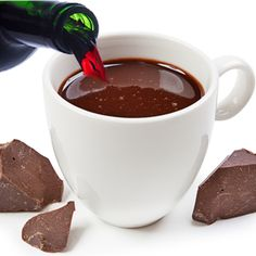 You Can Put Red Wine In Your Hot Chocolate!