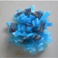Plastic Bag Hair Rosettes