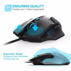 Cheap mouse 2000 dpi, Buy Quality optical computer mouse directly from China gaming mouse Suppliers: TeckNet Raptor Gaming Mouse 2000 DPI 6 Button Extra Weight Optical Computer Mouse E-Sports USB PC Mouse For Computer Laptop Gaming Computer, Laptop Computers, Computer Mouse, Computer Laptop, Cheap Mouse, Gadgets Online, Glass Fit, Pc Mouse, Pc Gamer