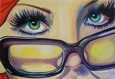 """Saatchi Online Artist WOLF Art; Painting, """"'Can't take my eyes of you...(SOLD)"""" #art"""