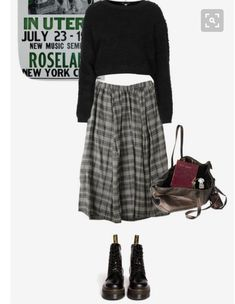 Dr martens with skirt