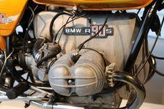 OldMotoDude: 1976 BMW R90S on display at the Barber Vintage Motorsports Museum -- Birmingham, Al.