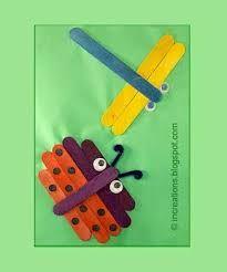 arte com palito de picole para a educação infantil ile ilgili görsel sonucu