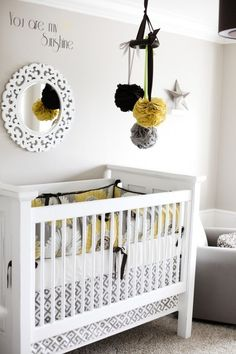 Cute nursery ideas...if we had a girl I would love to do this!