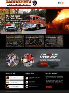 Pin By Itech Creators On Fire Dept Website Design Fire