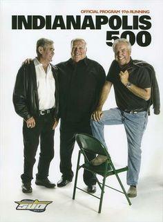 4 Time  Indy 500 Winners A.J. Foyt - Al Unser Sr. - Rick Mears                                                                                                                                                                                 More