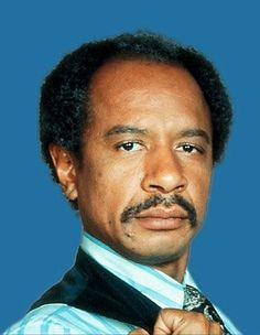 Sherman Hemsley as George Jefferson !!! Meanest but funniest sit com character EVER !!!!
