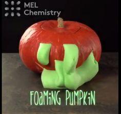 Foaming pumpkin