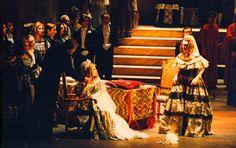 LUCIA DI LAMMERMOOR Opéra d'Avignon : LAURENCE JANNOT Scénographie et mise en scène A.SELVA (antoineselva.com)