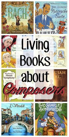 Inside you'll find: picture books about composers, full of living ideas perfect for a Charlotte Mason picture study. Have you ever met a person that hated all types of music? Enjoy these ideas for great people to read about. Homeschool Books, Homeschooling Resources, Music Activities, Movement Activities, Leadership Activities, Sequencing Activities, Group Activities, Music Games, Elementary Music