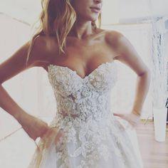 "3,942 Likes, 20 Comments - Galia Lahav (@galialahav) on Instagram: ""#Gia's full on embroidered corset. #Perfect is an understatement. #GaliaLahav beauty."""