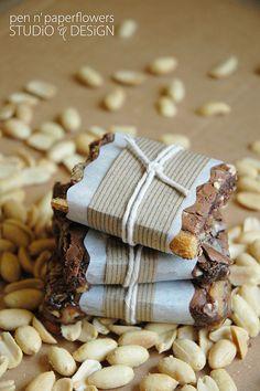buckeye brownies recipe | packaging!