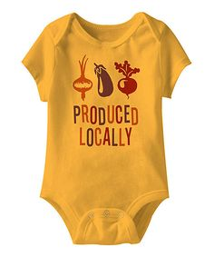 'Produced Locally' Onesie!