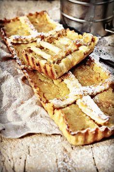 les cuisines de garance: chaussons aux pommes & poires, au miel de