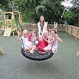 We offer a range of equipment for SEN. Like Wheelchair Swings, Roundabouts & Rolli Trampolines! Play Equipment for Schools, Nurseries & Parks from Fawns Playtime.