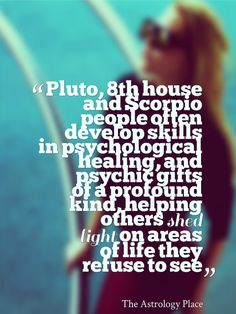 Scorpio, 8th House and Pluto Stuff   The Astrology Place