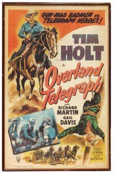 Tim Holt | Tim Holt Movies | 0649: Western movie poster & Tom Mix poster, Tim ...
