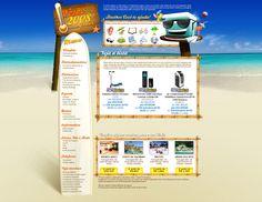 Hotsite da campanha de verão - Submarino