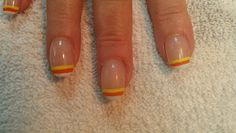 Candy corn French