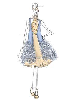 Fashion Ilustration to Vitoria Moda 2017 a Fashion Week
