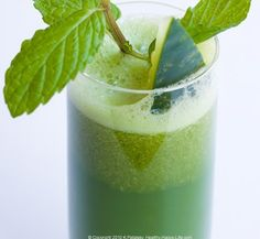 Cucumber Mint Lemon Juice recipe