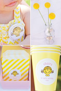 Cheery Little Miss Sunshine 1st Birthday Party