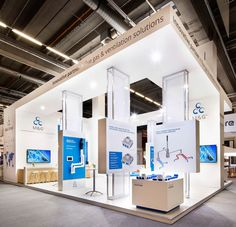 M&G - Eldee Expo Experts - ISH exhibition stand 2017 Exhibition Stall, Exhibition Booth Design, Exhibition Display, Exhibit Design, Hall Design, Stage Design, Expo Stand, Trade Show Booth Design, Shop Interiors