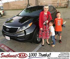 https://flic.kr/p/KeZ25w | #HappyBirthday to Kathleen from JERRY TONUBBEE at Southwest Kia Mesquite! | deliverymaxx.com/DealerReviews.aspx?DealerCode=VNDX