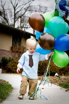 """The New Normal: Fenn's """"Little Man"""" Birthday Party-must get this pic"""