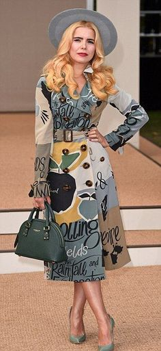 Stand out appearances... Jamie Campbell Bower and Paloma Faith both donned bold prints...