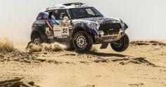 Vladimir Vasilyev y Konstantin Zhiltsov se han adjudicado la victoria en el Abu Dhabi Desert Challenge con el primero de los cuatro Mini que se han situado entre los diez primeros. Abu Dhabi, 4x4 Wheels, Challenge, Exotic Cars, Victoria, Offroad, Nissan, Monster Trucks, Mini