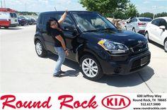 https://flic.kr/p/HAp5aL | Happy Anniversary to Michiko on your #Kia #Soul from Andi Wilson at Round Rock Kia! | deliverymaxx.com/DealerReviews.aspx?DealerCode=K449