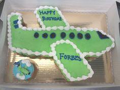 Airplane Cupcake Cake