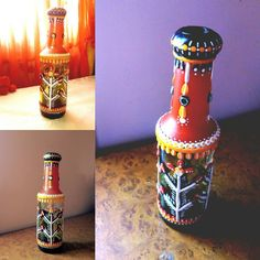 New arrival. I prefer living with colours. Bottle Art, Colours, Traditional, Instagram