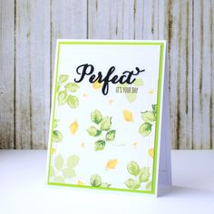 Its your PERFECT day card by Katerina Elizbaryan. Very versatile set of stamps Vintage Roses from Altenew/