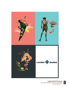 Laging Handa Series | Boy Scout themed prints