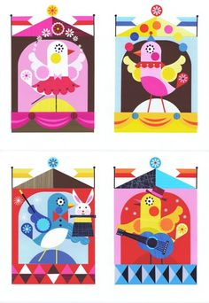 NEW WORK - ellen giggenbach Bird graphics