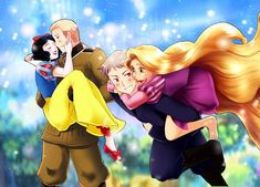 Tags: Anime, Fanart, Snow White and the Seven Dwarfs, Axis Powers: Hetalia, Prussia