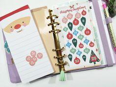 Make it Monday // Christmas Countdown Planner Insert Big Christmas Tree, Christmas Countdown, Christmas Ornament, Filofax, Daily Planner Printable, Free Printable, Happy Planner, 2016 Planner, Cool Things To Make